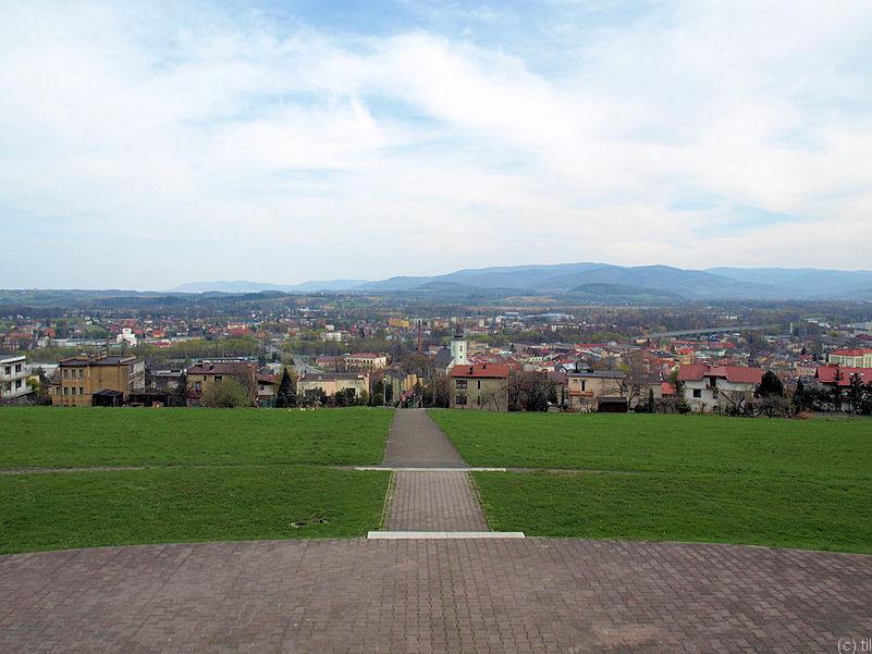 View from Kaplicówka hill